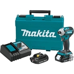 Makita XDT16R 18V LXT Lithium-Ion Compact Brushless Cordless Quick-Shift Mode 4 Speed Impact Driver Kit 2.0 Ah