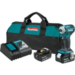 Makita XDT16T 18V LXT Lithium‑Ion Brushless Cordless Quick‑Shift Mode 4‑Speed Impact Driver Kit (5.0Ah)