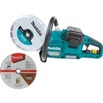 Makita XEC01Z 18V X2 (36V) LXT Lithium‑Ion Brushless Cordless 9 in. Power Cutter, with AFT, Electric Brake, Tool Only