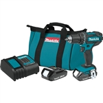 Makita XFD10SY 18V LXT Lithium-Ion Compact Cordless 1/2 in. Driver-Drill Kit (1.5Ah)