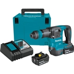 Makita XKH01TJ 18V LXT Lithium-Ion Brushless Cordless AVT Power Scraper Kit, accepts SDS-PLUS (5.0Ah)