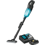 Makita XLC03R1BX4 18V LXT Lithium ion Compact Brushless Cordless Vacuum Kit Trigger with Lock (2.0Ah)