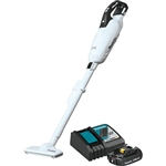 Makita XLC05R1WX4 18V LXT Lithium ion Compact Brushless Cordless 3 Speed Vacuum Kit w/ Push Button and Dust Bag (2.0Ah)