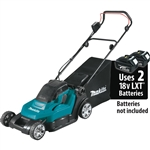 Makita XML05Z 18V X2 (36V) LXT Lithium Ion Cordless 17 in. Residential Lawn Mower, Tool Only