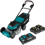 Makita XML06PT1 18V X2 (36V) LXT® Lithium-Ion Brushless Cordless 18 in. Self-Propelled Commercial Lawn Mower Kit with 4 Batteries (5.0Ah)