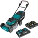Makita XML07PT1 18V X2 (36V) LXT Lithium Ion Brushless Cordless 21 in. Lawn Mower Kit with 4 Batteries (5.0Ah)