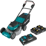Makita XML07PT1 18V X2 (36V) LXT® Lithium‑Ion Brushless Cordless 21 in. Commercial Lawn Mower Kit with 4 Batteries (5.0Ah)
