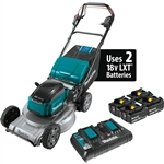 Makita XML09PT1 18V X2 (36V) LXT Lithium Ion Brushless Cordless 21 in. Self Propelled Commercial Lawn Mower Kit with 4 Batteries (5.0Ah)