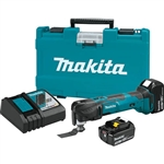 Makita XMT035 18 Volt LXT Lithium-Ion Cordless Multi-Tool Kit (3.0 Ah)