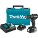 Makita XPH11RB 18V LXT Lithium‑Ion Sub‑Compact Brushless Cordless 1/2 in. Hammer Driver‑Drill Kit (2.0Ah)