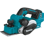 Makita XPK02Z 18V LXT Lithium‑Ion Brushless Cordless 3‑1/4 in. Planer, AWS Capable, Tool Only