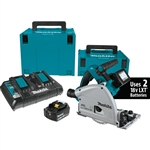 Makita XPS01PTJ 18V X2 LXT Lithium‑Ion (36V) Brushless Cordless 6‑1/2 Inch Plunge Circular Saw Kit (5.0Ah)