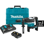Makita XRH07PTU 18V X2 LXT Lithium‑Ion 36V Brushless Cordless 1‑9/16 in. Advanced AVT Rotary Hammer Kit, accepts SDS‑MAX bits, AWS 5.0Ah