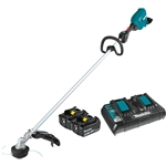 Makita XRU18PT 18V X2 (36V) LXT Lithium-Ion Brushless Cordless String Trimmer Kit (5.0Ah)