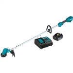 Makita XRU23SM1 18V LXT Lithium Ion Brushless Cordless 13 in. String Trimmer Kit (4.0Ah)