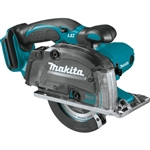 Makita XSC03Z 18V LXT Lithium‑Ion Cordless 5‑3/8 in. Metal Cutting Saw with Electric Brake and Chip Collector, Tool Only