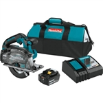 Makita XSC04T 18V LXT Lithium‑Ion Brushless Cordless 5‑7/8 in. Metal Cutting Saw Kit (5.0Ah)