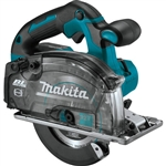 Makita XSC04Z 18V LXT Lithium‑Ion Brushless Cordless 5‑7/8 in. Metal Cutting Saw, with Electric Brake and Chip Collector, Tool Only