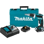 Makita XSF03R 18V LXT Lithium Ion Compact Brushless Cordless 4,000 RPM Drywall Screwdriver Kit 2.0Ah