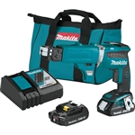 Makita XSF03RX2 18V LXT Lithium Ion Compact Brushless Cordless 4000 RPM Drywall Screwdriver Kit with Autofeed Magazine