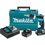 Makita XSF03T 18V LXT Lithium Ion Brushless Cordless 4,000 RPM Drywall Screwdriver Kit (5.0Ah)