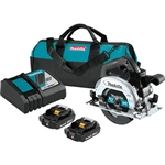 Makita XSH04RB 18V LXT Lithium‑Ion Sub‑Compact Brushless Cordless 6‑1/2 in. Circular Saw Kit (2.0Ah)