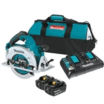Makita XSH07PTU 18V X2 LXT Lithium‑Ion (36V) Brushless Cordless 7‑1/4 in. Circular Saw Kit, AWS Capable (5.0Ah)