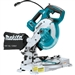 Makita XSL05Z 18V LXT Lithium-Ion Brushless Cordless 6-1/2 in. Compact Dual-Bevel Compound Miter Saw with Laser, Tool Only