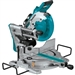Makita XSL06Z 18V LXT Lihtium Ion Brushless Cordless 10 in. Dual Bevel Sliding Compound Miter Saw with Laser