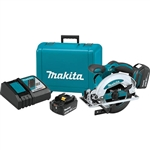 Makita XSS01T 18V LXT Lithium Ion Cordless 6-1/2 in. Circular Saw Kit (5.0Ah)