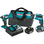 Makita XT262T 18V Cordless 2pc. Combo Kit 5.0Ah