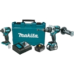 Makita XT268M 18V LXT Lithium‑Ion Brushless Cordless 2 pc. Combo Kit (4.0Ah)
