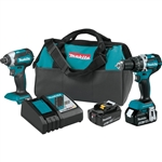 Makita XT269M 18V LXT Lithium‑Ion Brushless Cordless 2‑Pc. Combo Kit (4.0Ah)