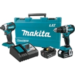 Makita XT269R 18V LXT Lithium-Ion Compact Brushless Cordless 2-Pc. Combo Kit (2.0Ah)