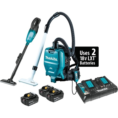 Makita XT278PTX1 18V 2-Piece Vacuum Combo Kit