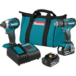 Makita XT281S 18V LXT Cordless 2 Piece Combo Kit