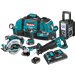 Makita XT705PT 18V LXT Lithium-Ion Brushless Cordless 7-PC. Combo Kit (5.0Ah)