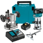 Makita XTR01T7 18V LXT Cordless Compact Router Kit