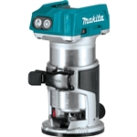 Makita XTR01Z 18V LXT Lithium‑Ion Brushless Cordless Compact Router, Tool Only