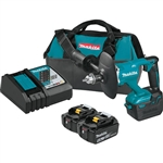 Makita XTU02T 18V LXT Lithium-Ion Brushless Cordless 1/2 in. Mixer Kit 5.0 Ah