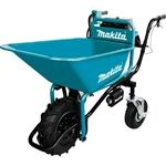 Makita XUC01X1 18V X2 LXT Lithium‑Ion Brushless Cordless Power‑Assisted Wheelbarrow, Tool Only