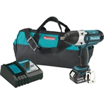 Makita XWT041X 18V 1-2 in. Sq. Drive Impact Wrench Kit