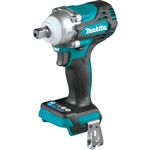 Makita XWT15Z 18V LXT Lithium Ion Brushless Cordless 4 Speed 1/2 in. Sq. Drive Impact Wrench w/ Detent Anvil, Tool Only