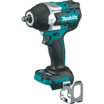 Makita XWT17Z 18V LXT Lithium‑Ion Brushless Cordless 4‑Speed Mid‑Torque 1/2 in. Sq. Drive Impact Wrench w/ Friction Ring Anvil, Tool Only