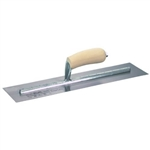 Marshalltown MXS56 Premier Line 12 x 3 in. Finishing Trowel with Curved Wood Handle