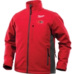 Milwaukee 202R-20 Heated ToughShell Jacket, Red