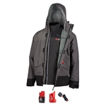 Milwaukee 203RN-21 M12 Heated Axis Layering System with HydroBreak Rainshell Kit
