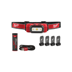 Milwaukee 2111-21 Rechargeable Hard Hat Headlamp