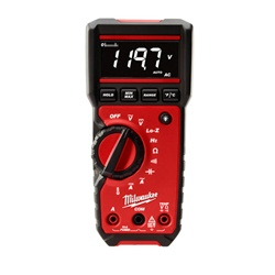 Milwaukee 2217-20 Digital Multimeter, digital voltmeter,fluke digital multimeter