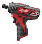 Cordless 2406-20 12-volt 1/4 Inch Hex two speed Screwdriver by Milwaukee